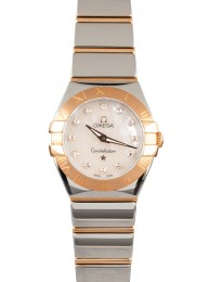 Cheap Omega Constellation Steel & 18k Red Gold WE03191