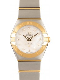 Copy Omega Constellation Yellow Gold & Steel WE03039
