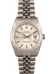 Top Rolex Datejust 16220 Silver Dial Steel Jubilee Band WE01779
